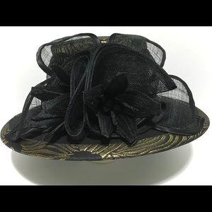 Women's fashion black hat